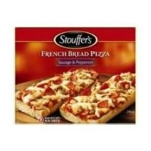 Stouffers Sausage and Pepperoni French Bread Pizza, 12.5 Ounce -- 10 per case. (Meat Pizza)