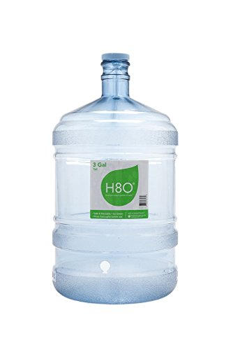 Tall Jug (H8O Polycarbonate 3 gallon Tall Water Bottle (with Handle) with 48mm Cap)