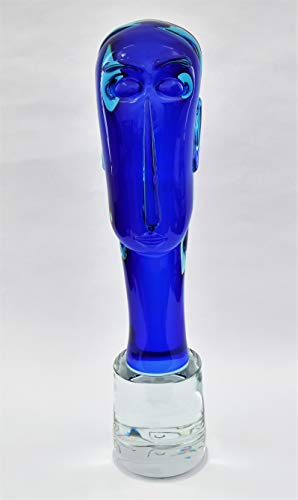 Murano Glass art – Homage to Modigliani, by Glass Maestro Furlan Walter