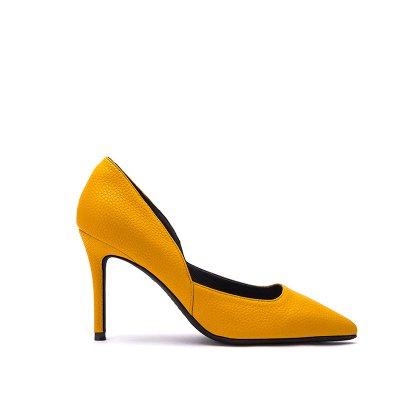 sexy de cuero sugerencia simple femenina de de altos personalidad partido e zapatos tacones superficial FLYRCX cuero fino zapatos La moda Pwqqzt