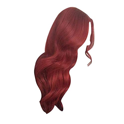 Aleola Men Wigs Long Curly Male Hair Replacement Wigs Movie Cospaly Costume Wigs