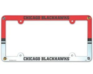 Full Color License Plate - NHL Chicago Blackhawks Full Color License Plate Frame, Team Color, One Size