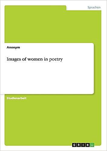 Images of women in poetry