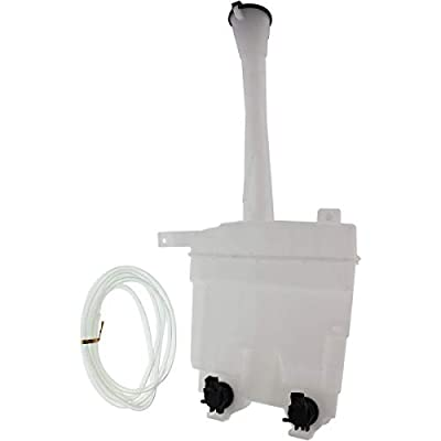New Windshield Washer Tank For 2009-2013 Toyota Matrix, With 2 Pumps, Models With Rear Wiper, Level Sensor Not Included TO1288148 8531502300