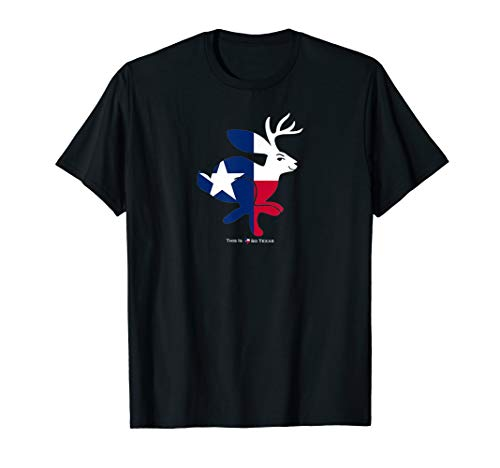 Texas Flag Jackalope T-Shirt