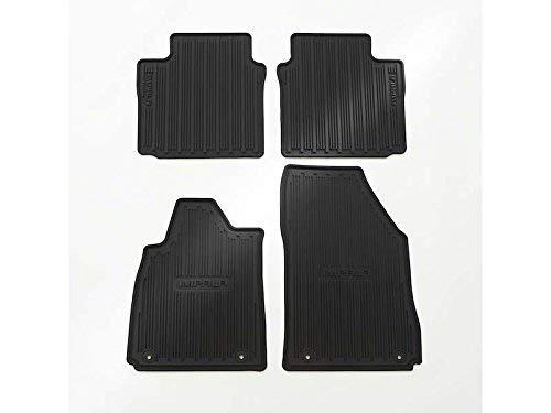 GMC OEM New Front & Rear All Weather Floor Mats Black w/Logo 14-18 Impala 22759780