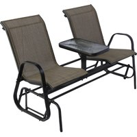 Westfield Outdoor S95-S1384K Double Glider With Console by WESTFIELD OUTDOOR