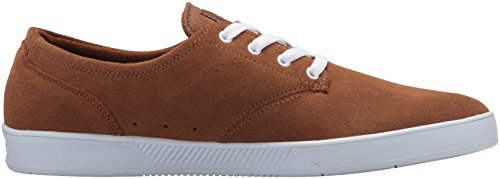 Emerica The Romero Laced - Monopatín Para Hombre, Color Marrón, Talla 47