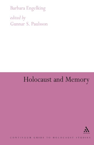 Holocaust and Memory (Continuum Collection)