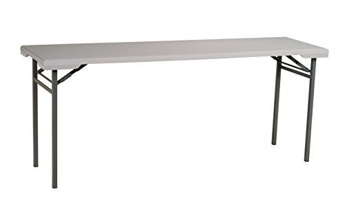 Office Star Resin Multipurpose Rectangle Table, 5.87-Feet Long