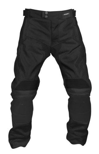 Pilot Men's Omni Air Mesh Motorcycle Over pants (Black, X-Large)