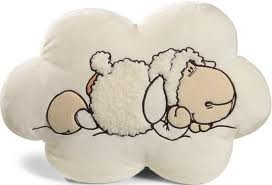 Nici 210869 - Cojín con forma de nube y diseño de oveja (47 ...