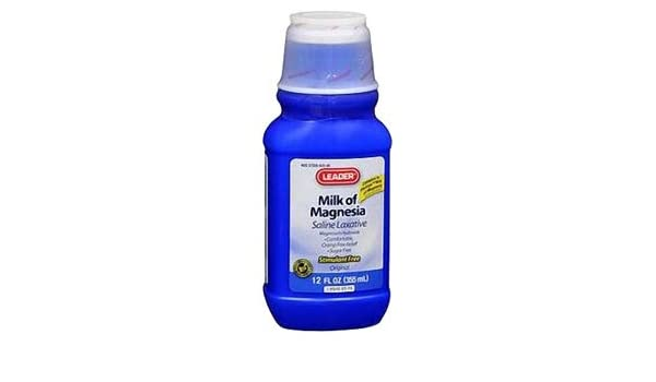 PH1460369 - Leader Milk of Magnesia Original Suspension, 12 oz.: Amazon.com: Grocery & Gourmet Food