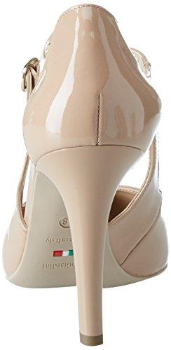 Nero Tacco Scarpe Punta Chiusa Dimona col Marrone Donna Giardini Z4pZWaqxwR