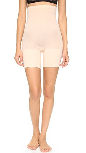 SPANX Women's Higher Power Shorts, Soft Nude, MD from SPANX