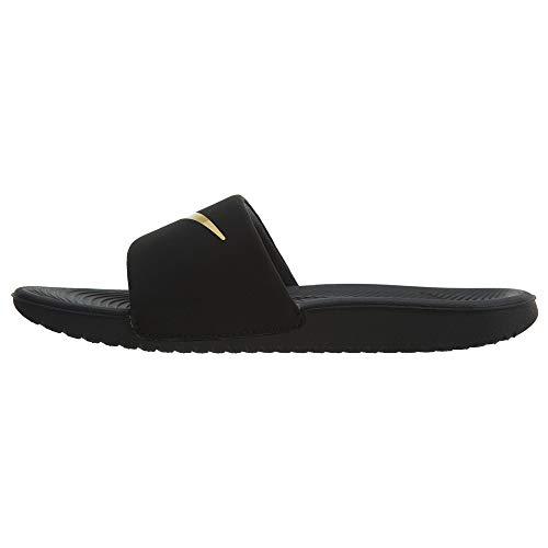 Kawa Slide GS PS Zehentrenner schwarz Nike Schwarz gold Jungen fFnHzT