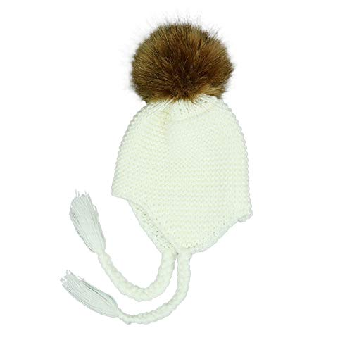 70839276318ff Naiflowers Unisex Children Fashion Baggy Warm Crochet Winter Wool Knit Ski  Beanie Skull Slouchy Twist Hat