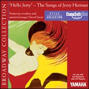 Sheet Modules Music Yamaha - Hello Jerry - The Songs Of Jerry Herman - (for Cd-compatible Modules)