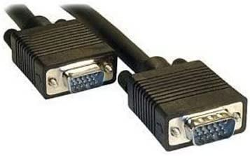 Black 3m Normal Quality VGA 15Pin Male to VGA 15Pin Male Cable for CRT Monitor