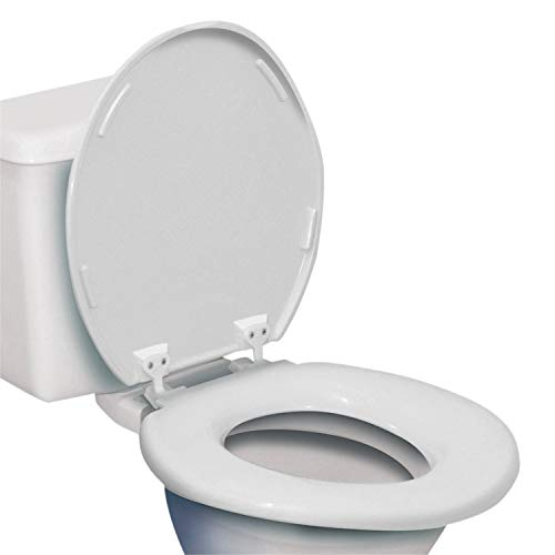 Bariatric Extra Wide Toilet Seat - Supports up to 1,000 Pounds