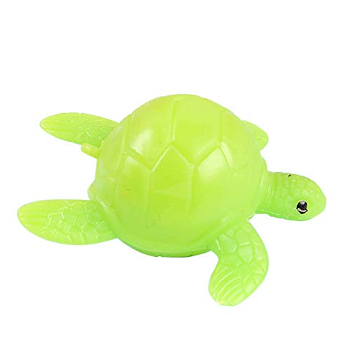 Softmusic Creative Turtle Tortoise Stress Reliever Kids Adult Prank Trick Vent Squeeze Toy Green