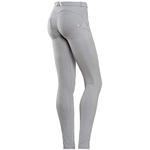 Pantalones Talle Mujer Claro Freddy Pitillo Skinny De up Gris Wr Normal Xl xqw0aF
