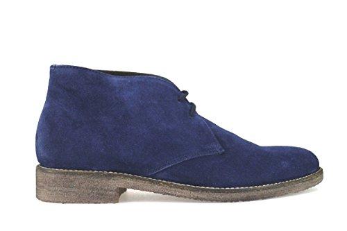 TRIVER FLIGHT - Zapatos de cordones de ante para mujer azul claro