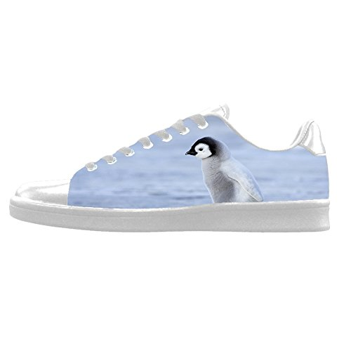 Custom Pinguin Mens Canvas shoes Schuhe Lace-up High-top Sneakers Segeltuchschuhe Leinwand-Schuh-Turnschuhe C