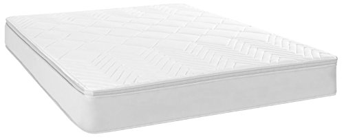 Safavieh Dream Collection Harmony White Spring Mattress, 10-Inch (Queen)