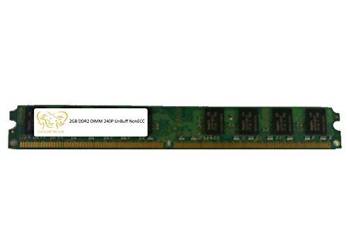 K-byte Memory - K-BYTE 761133860069 2GB DESKTOP DIMM DDR2 PC5300(667) UNBUF 1.8v 2RX8 240P 256MX64 128mX8 CL5 8k