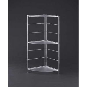 Organize It All 62563W Corner Shelf, 16 x 40.25 x 3.25