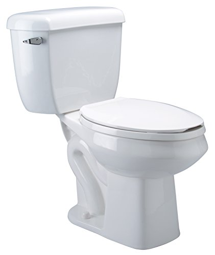 - Zurn Z5561 ADA, Elongated Pressure Assist, 1.0 gpf, Two-Piece Toilet