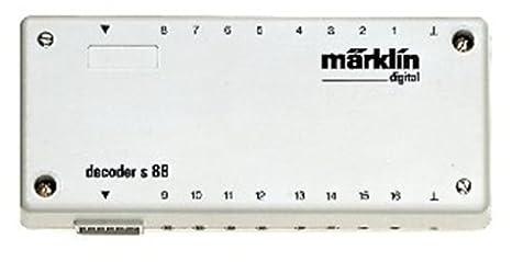 Märklin 60880 K 88 - Descodificador para maquetas de tren ...