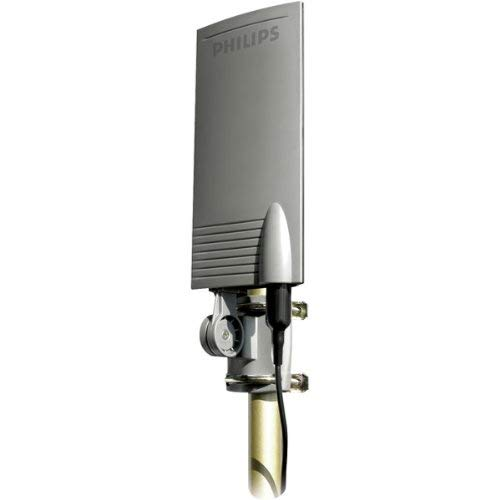 Philips MANT940 UHF Digital and Analog Indoor/Outdoor Antenna (Discontinued by Manufacturer) (Renewed) ()
