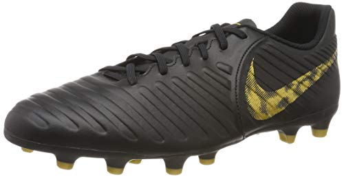 Nike Men's Tiempo Legend 7 Club FG Soccer Cleats-Black/Gold (10.5) ()