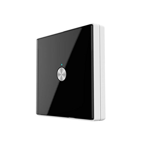 Nacome Wireless Wall Switch Lighting Control, Remote Operation,Capacitive Glass Wireless Wall Switch (Black) by Nacome (Image #6)
