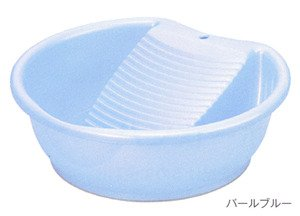 JapanBargain Japanese Laundry Wash Basin with Washboard 1690
