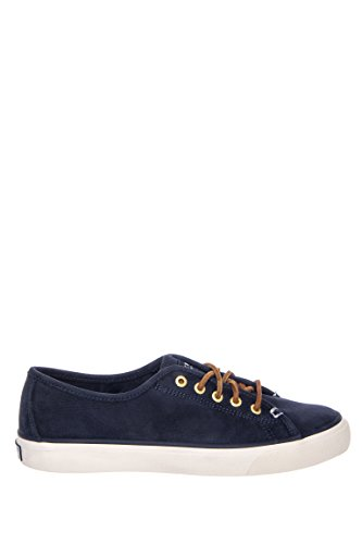 New Sperry Women's Seacoast Washable Sneakers Navy 6