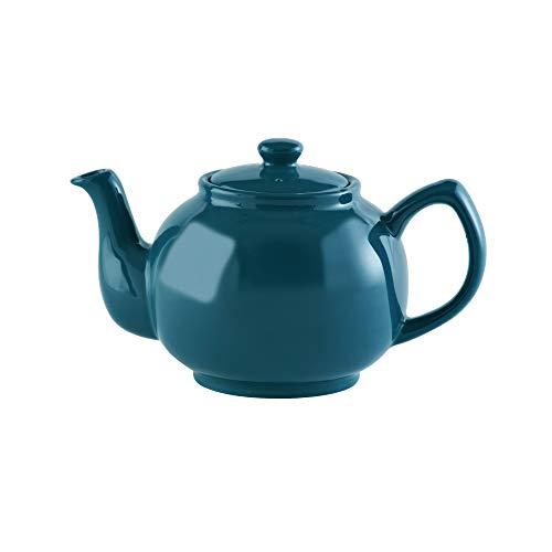 Price & Kensington Brights–Tetera (6Tazas, Verde Azulado