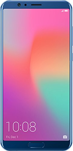 Honor View 10 (Navy Blue, 6GB RAM + 128GB memory) - Unlocked International Model, No Warranty(Free Universal Charger) (Navy Blue)