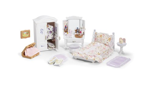 Calico Critters Deluxe Floral Bedroom Set Critter House Room Furniture