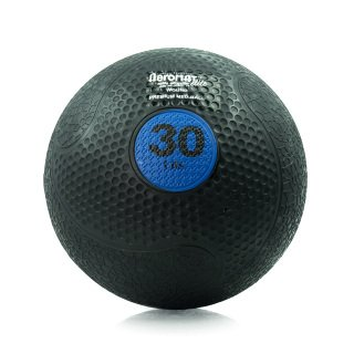 Aeromat Extreme Elite Medicine Ball 30LB, Blue by ECO-WISE