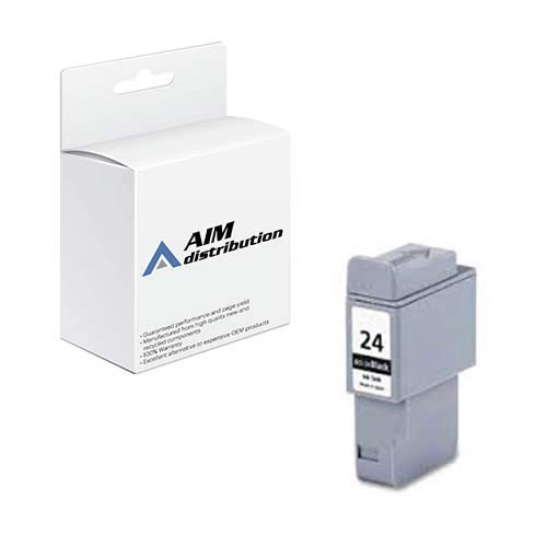 (AIM Compatible Replacement for Canon BCI-24 Black Inkjet - Generic)