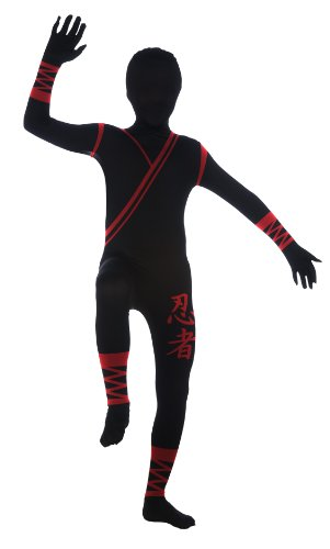 Child's Ninja Second Skin Suit, Medium -