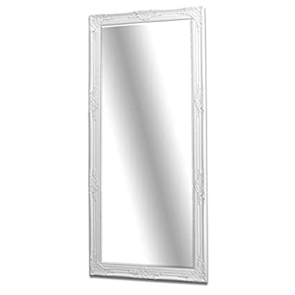 Marvelous Barcelona Trading Florence Large Vintage French Floor Full Length Wall Mirror White 163Cm X 72Cm 64 X28 Download Free Architecture Designs Scobabritishbridgeorg