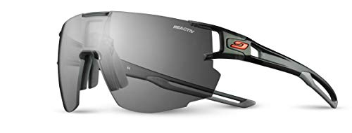 Julbo Aerospeed Performance Sunglasses - Reactiv Performance 0/3 - Translucent Black/Gray]()