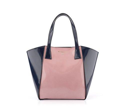 Nannini , Sac pour femme à porter à l'épaule multicolore rose 29 cm