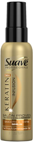 Suave Professionals Keratin Infusion Smooth and Shine Serum, 2 Ounce