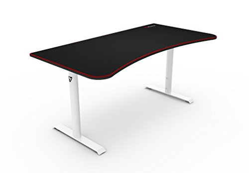31HYhvTPzFL - Turismo Racing Gaming Desk - Autodromo Extra-Wide Desk with LED Lighting and Integrated Mouse Pad