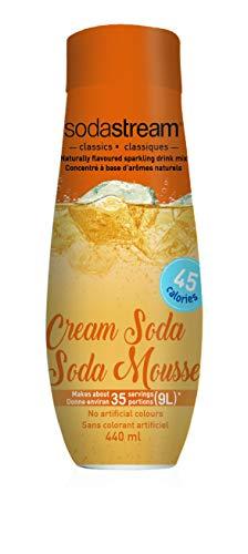 SodaStream Cream Soda Syrup, 14.8 Fluid Ounce